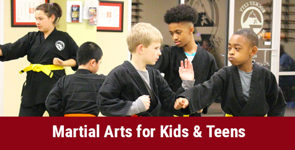 martial arts for kids and teens